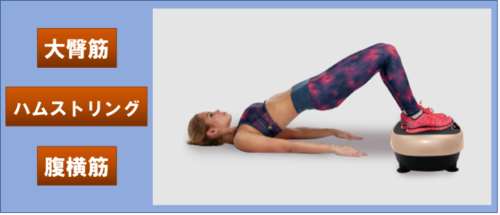 パワーウェーブミニのヒップラインを美しくする姿勢の画像