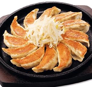 五味八珍の餃子